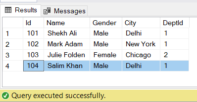 image insert record in simple view in SQL