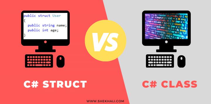 C# struct vs class